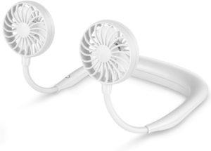 LUWATT Neck Fan Hands-Free Portable Small USB