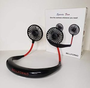 Portable Hand Free Fan USB Rechargeable