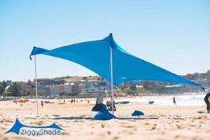 ZiggyShade Family Beach Sunshade