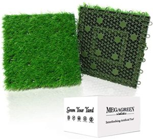 Artificial Grass Turf Interlocking GrassTiles