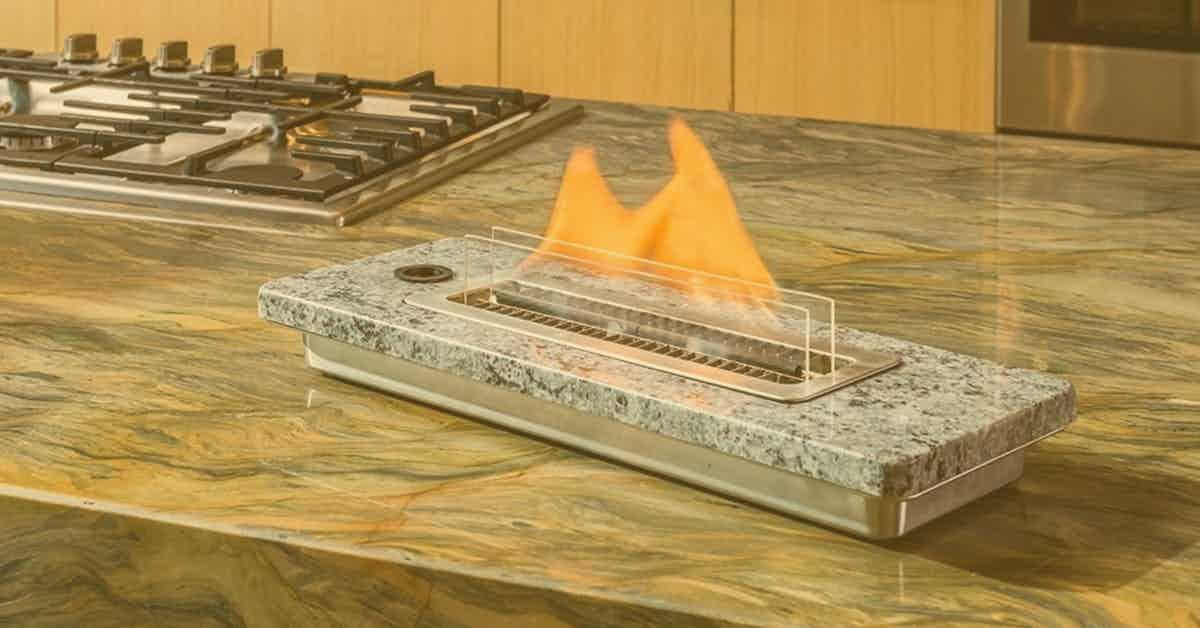 Portable Tabletop Fireplaces