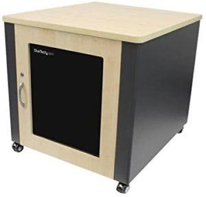 StarTech.com 12U Quiet Wood Network Server Rack